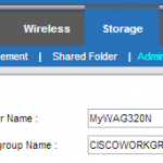 Cisco Linksys WAG320N Router – Missing Files